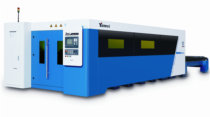 HLF series of high-speed optical fiber laser cutting machine