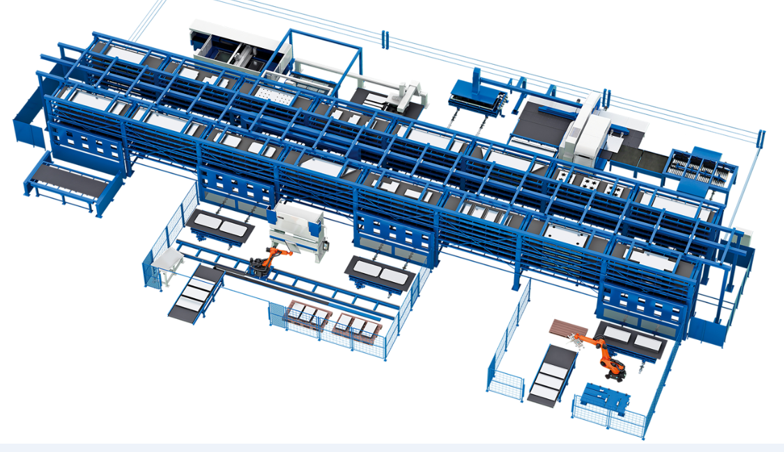 FMS Flexible manufacturing line