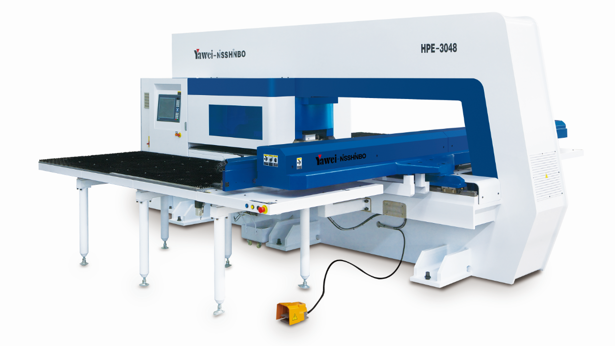 HPE Series CNC Turret Punching Machines